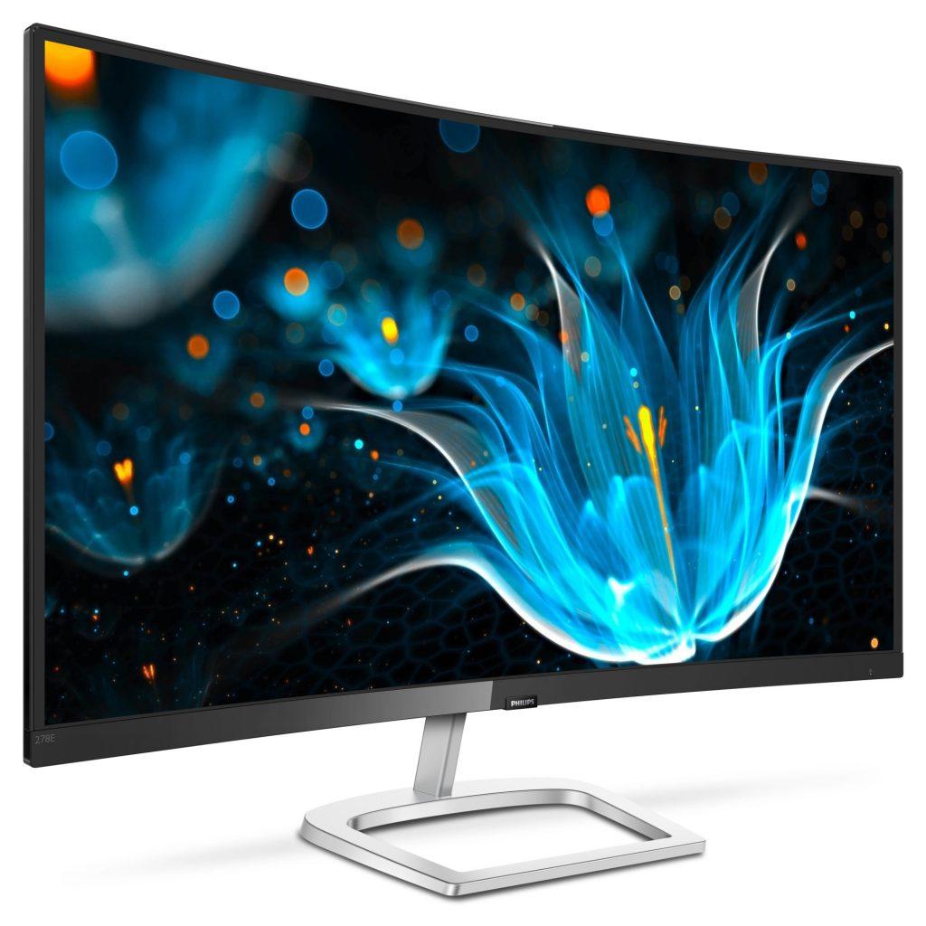 Philips predstavlja novi 27-palčni ukrivljeni monitor