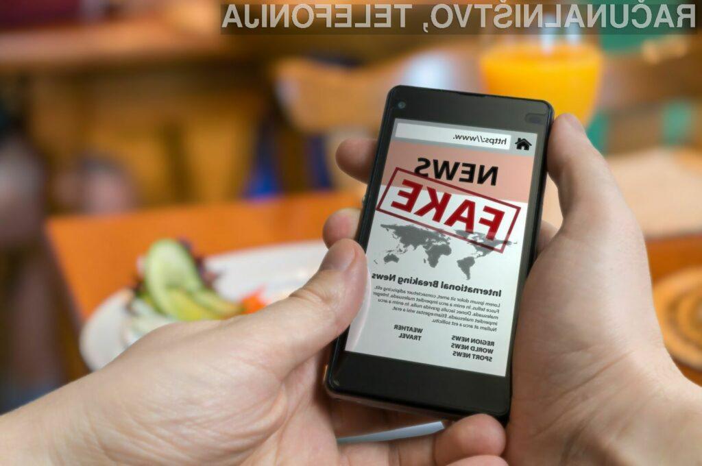 Združena Rusija bi odgovornost za lažne novice naložila kar družbenim omrežjem in lastnikom spletnih portalov.