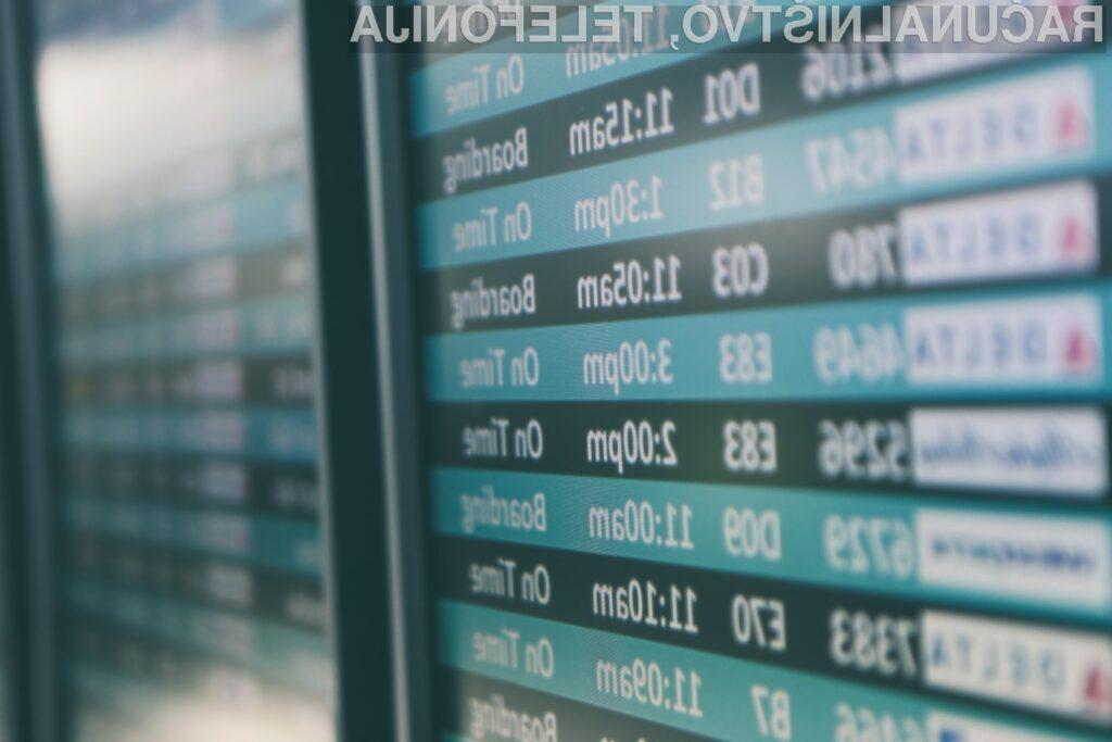 Dobrodošli na letališču prihodnosti, kjer je vaš obraz vstopnica za vse