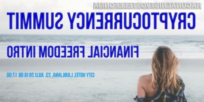 Poskrbite za svoje finance in brezskrbno prihodnost s kriptovalutami