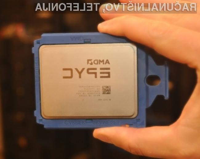 Novi procesorji AMD EPYC bodo energijsko precej bolj učinkoviti kot so sedaj.