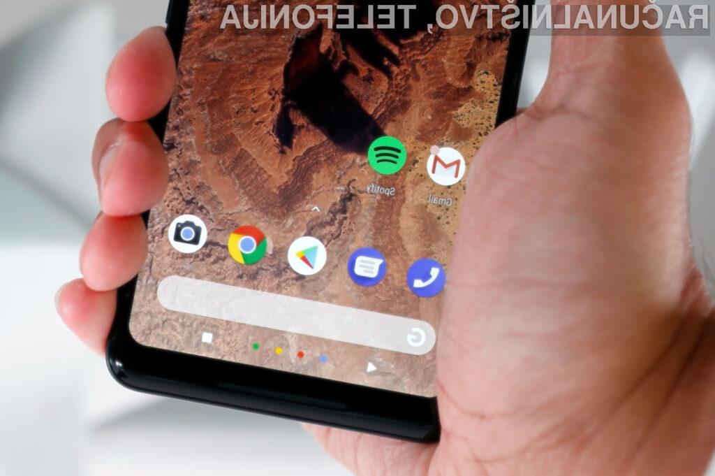 Pametni mobilni telefon Google Pixel 3 bi lahko uporabljali tudi v vlogi pametnega zvočnika!