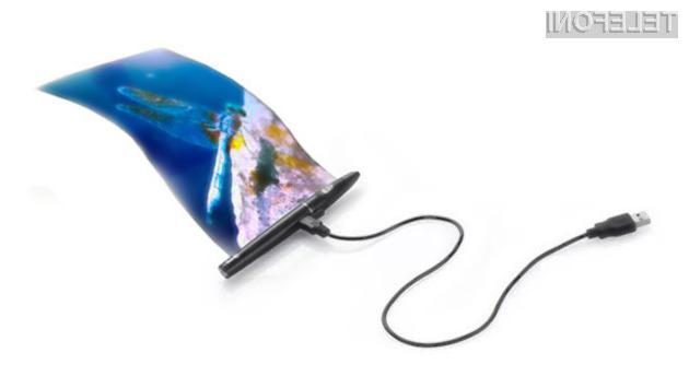 Pametni mobilni telefoni bi v bližnji prihodnosti lahko postali nadvse kompaktni.