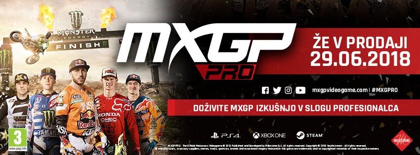 MXGP PRO - Že v prodaji od 29.6.2018 (PS4, XB1 in PC)