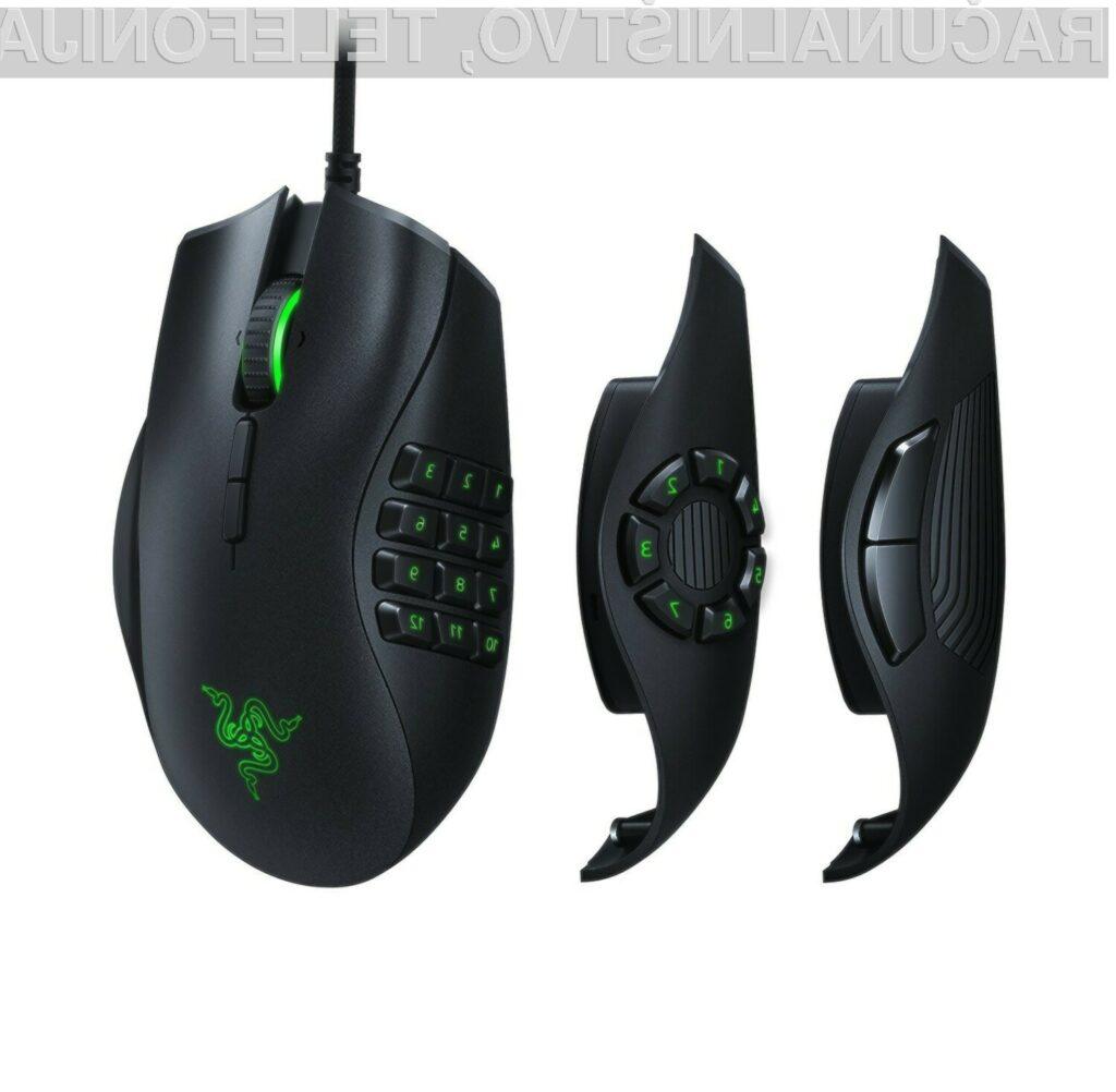 Računalniška miška Razer Naga Trinity je primerna za vse priložnosti!