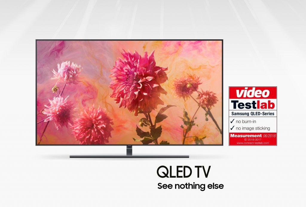Testlab potrjuje: Samsung QLED TV brez vžgane slike