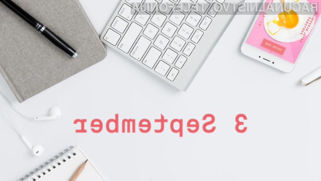 Rok za prijavo del podaljšan do 3. septembra 2018