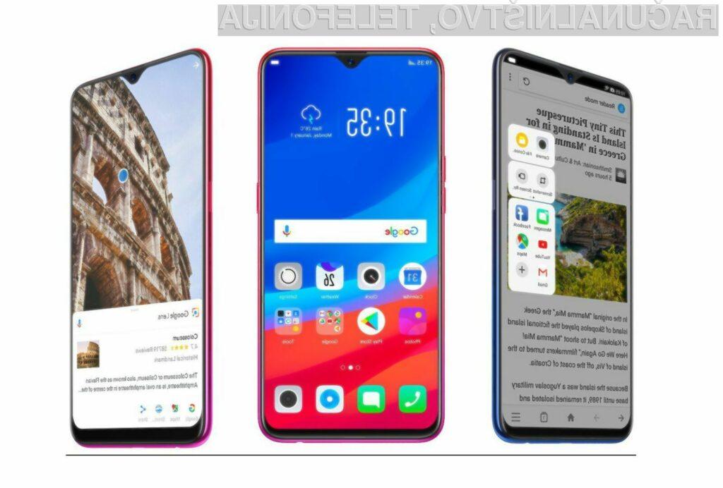 Kitajsko podjetje OPPO je ponovno prehitelo vse vodilne proizvajalce pametnih mobilnih telefonov!