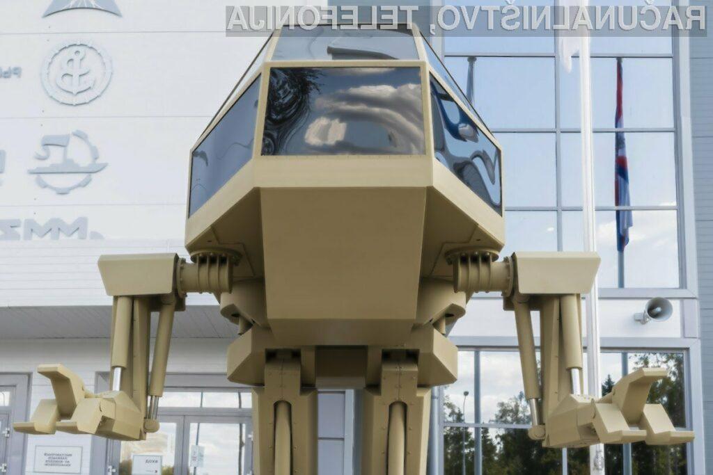 Rusi presenetili s futurističnim robotom Igorek
