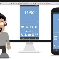 Oddaljena pomoč pod lastno blagovno znamko, zdaj tudi na mobilnih napravah Android