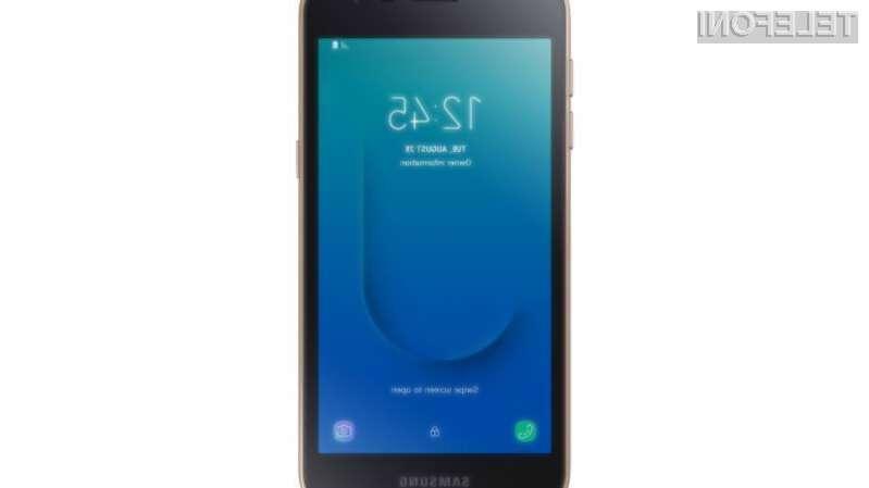 Samsung naznanil prvi telefon z Androidom Go