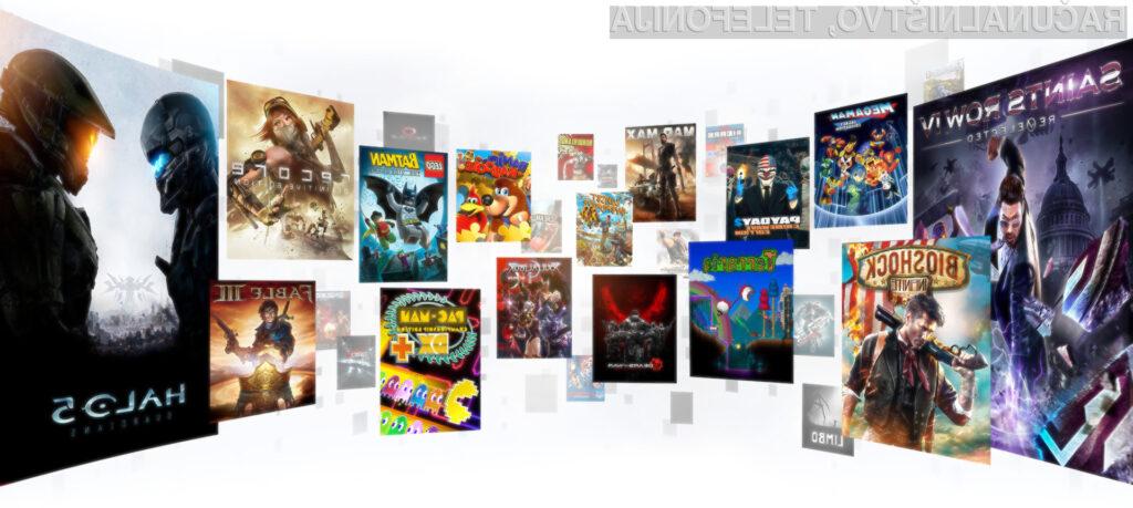 Storitev Xbox All Access nam bo poleg iger prinesla še igralno konzolo Xbox One.