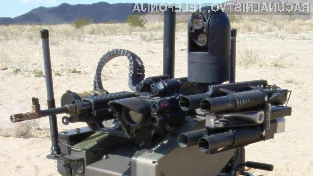 Avtonomno orožje bi moralo biti prepovedano po celotnem svetu!