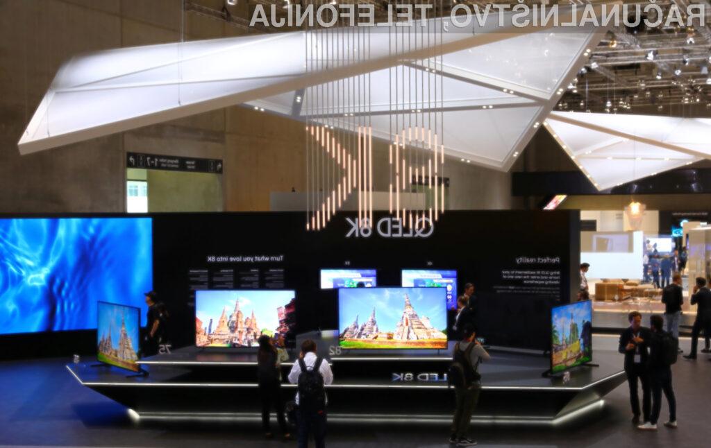 Televizijske vsebine ločljivosti 8K bodo ponekod po svetu na voljo že konec letošnjega leta.