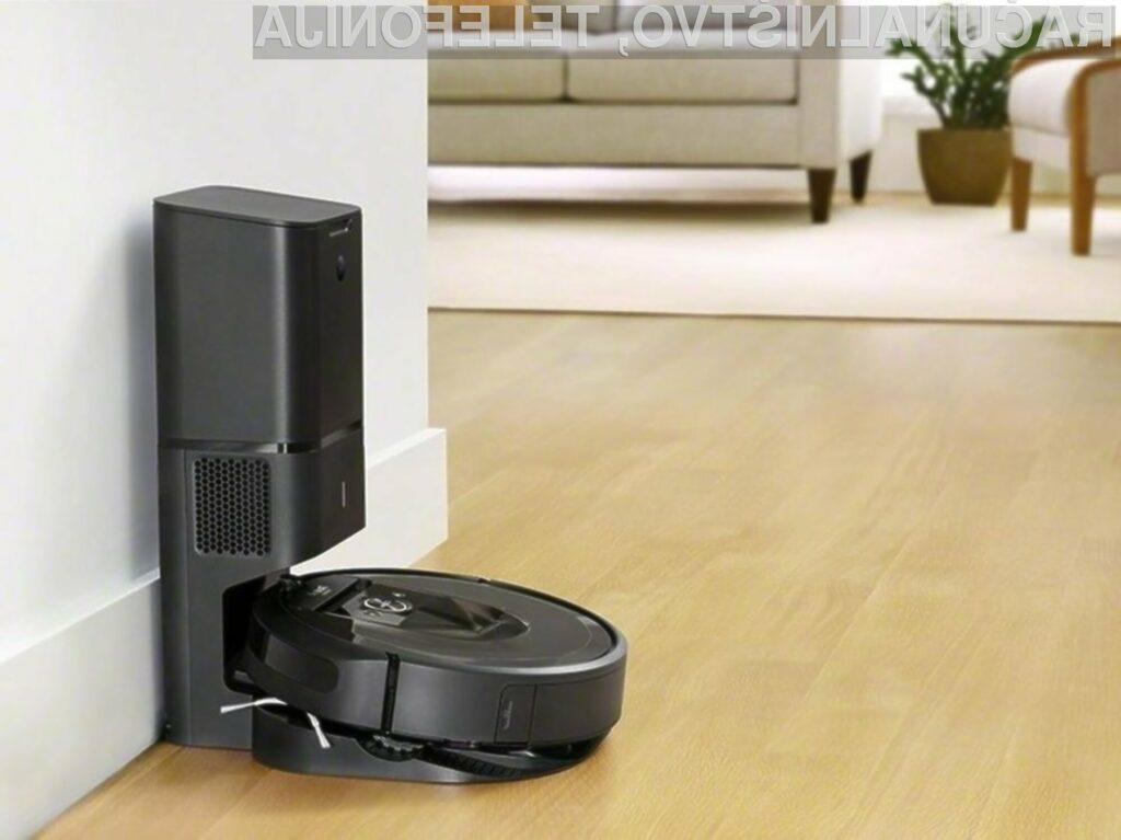 Robotski sesalnik iRobot Roomba i7 bo še poenostavil čiščenje stanovanja!