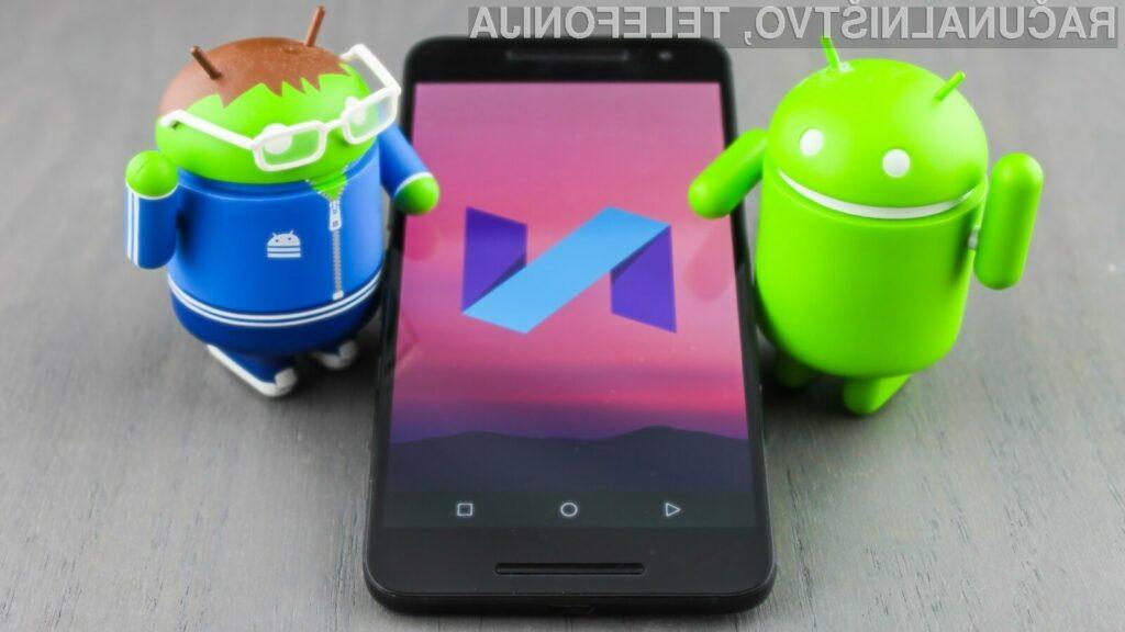 Katastrofalen začetek za Android Pie