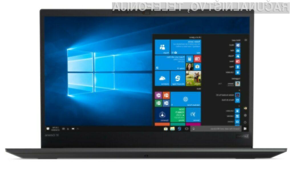 Prenosnik Lenovo ThinkPad X1 Extreme bo zlahka prepričal tudi najzahtevnejše!