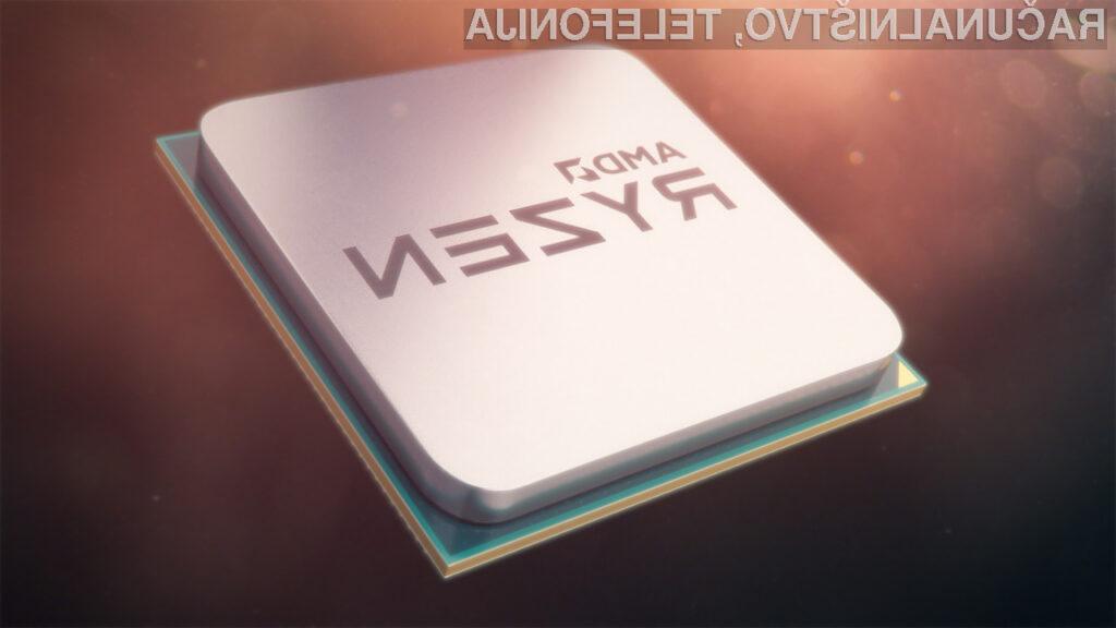 Novi procesorji AMD družine Ryzen 2000H bodo znatno pohitrili delovanje prenosnikov!