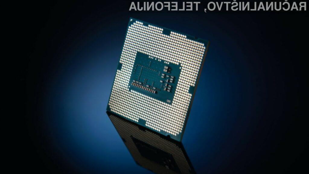 Za najcenejši Intelov procesor devete generacije bo treba odšteti preračunih 163 evrov.
