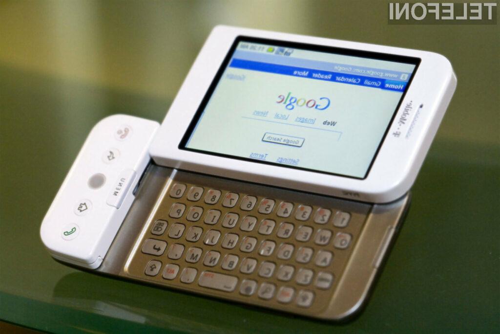 Prvi pametni mobilni telefon z Androidom je luč sveta ugledal že daljnega leta 2008!