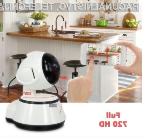 Kamera za nadzor vašega doma že za slabih 15 evrov