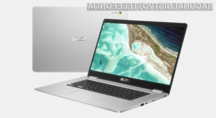 Prenosnik Asus Chromebook C523 vas bo zlahka prepričal!