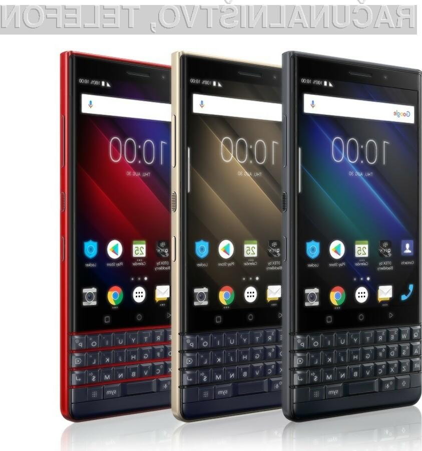 BlackBerry se vrača povsem v svojem slogu