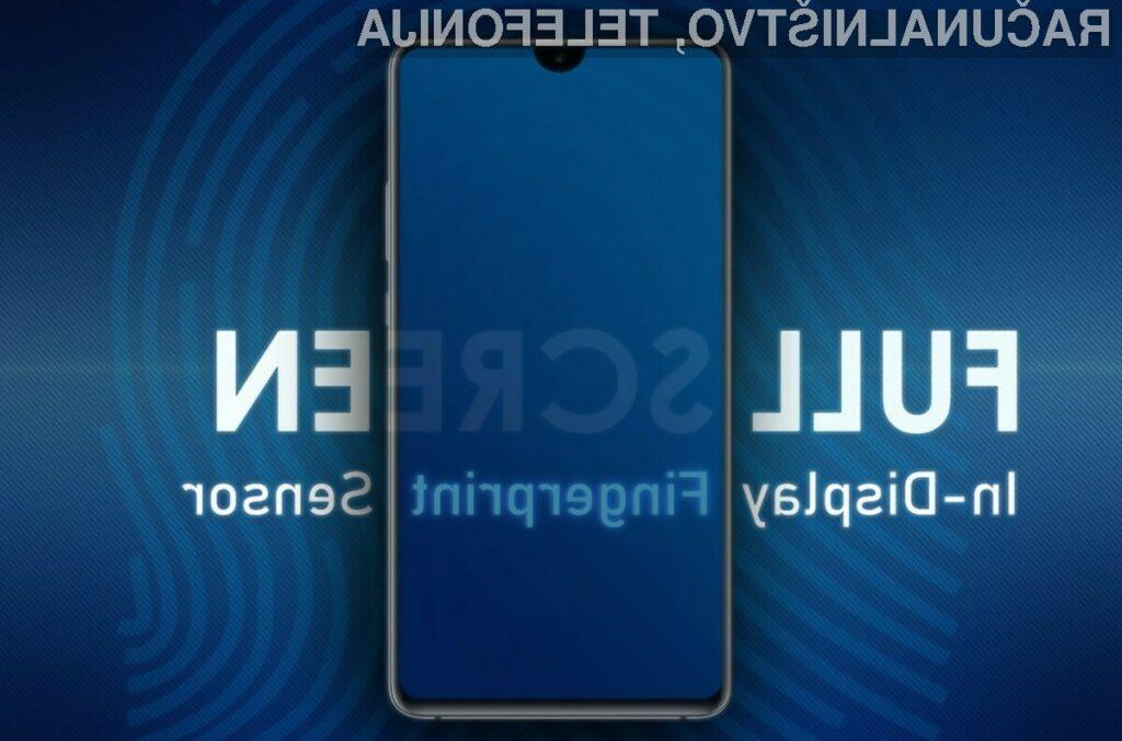 Novi Galaxy S10 naj bi imel tako režo na vrhu zaslona kot v steklo vgrajen bralnik prstnih odtisov!
