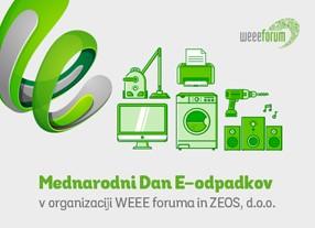 Prvi Mednarodni dan e-odpadkov je namenjen ozaveščanju javnosti o ravnanju z njimi