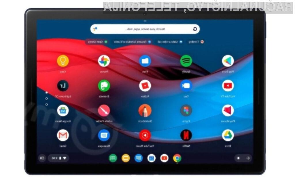 Novi Google Pixel Slate naj bi poganjal zgolj operacijski sistem Chrome OS.