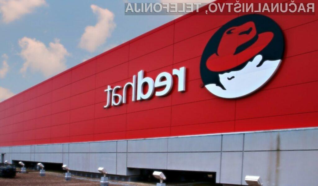 Podjetje IBM bo družbo RedHat prevzelo za kar preračunanih 29,9 milijard evrov.