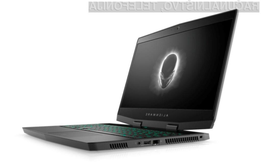Prenosniku Dell Alienware M15 zaradi izjemno zmogljive strojne opreme vsaj zlahka ne bo zmanjkalo sape.