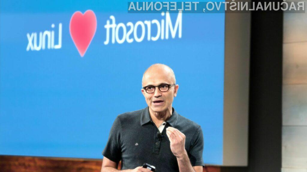 Microsoft je izkazal odlično podporo za odprtokodne rešitve!