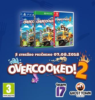 Overcooked!2 - že v prodaji