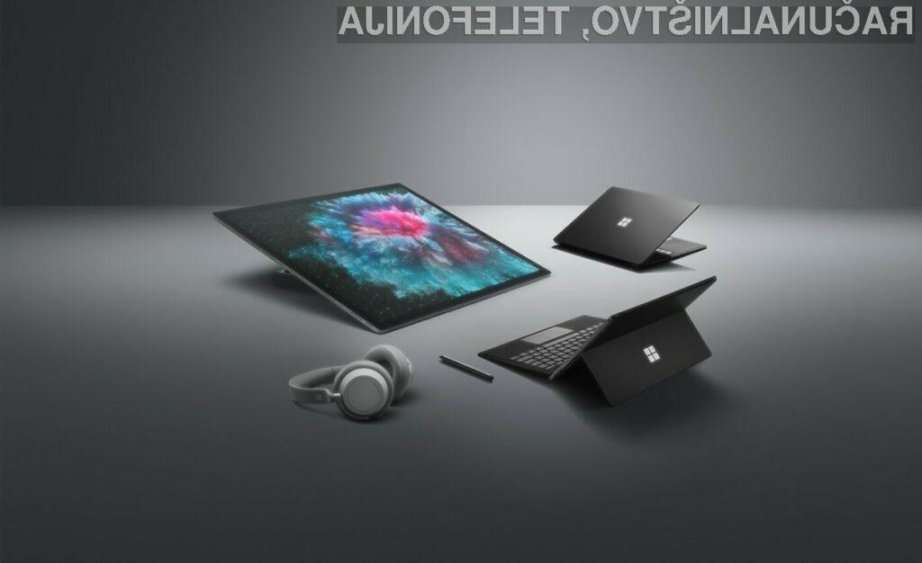 Microsoft je prijetno presenetil s kar tremi novimi računalniki družine Surface!
