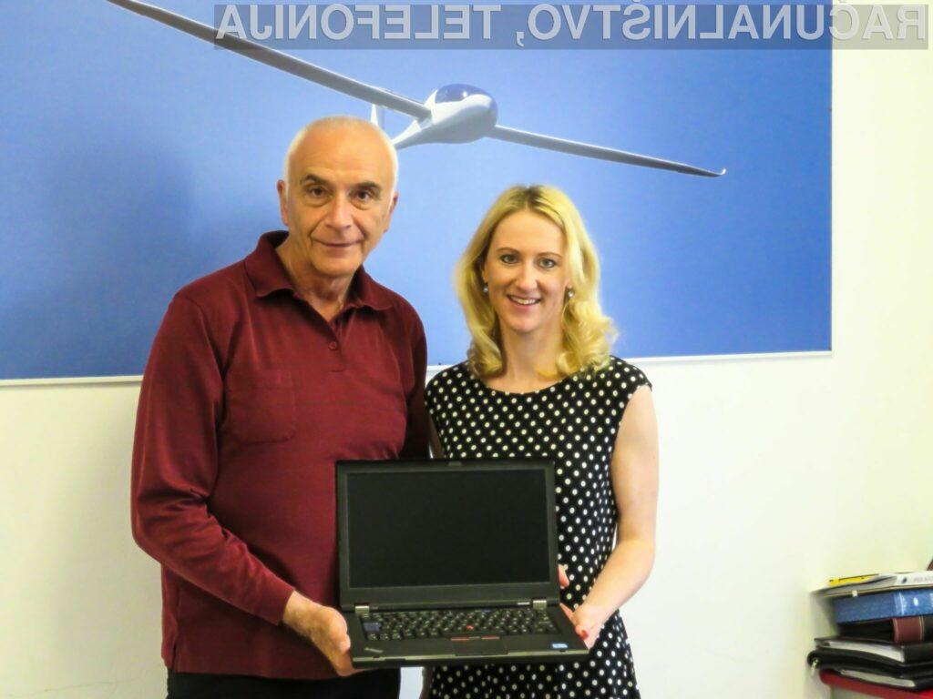 Njihove obnovljene računalnike imajo tudi v inovativnem slovenskem podjetju, ki postavlja nove standarde v letalski industriji – Pipistrel.