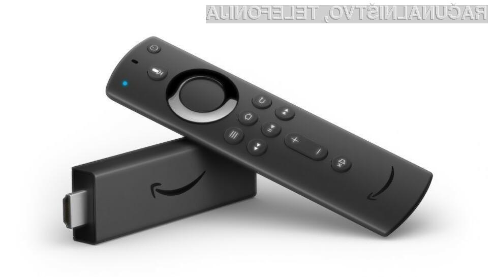 Novi Amazon Fire Stick 4K je za kar 80 odstotkov hitrejši v primerjavi s predhodnikom.
