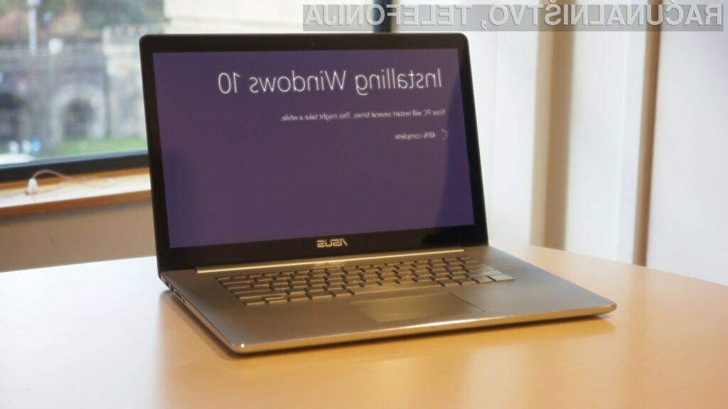 Windows 10 naj bi bil trenutno nameščen že na okoli 800 milijonih naprav širom sveta.