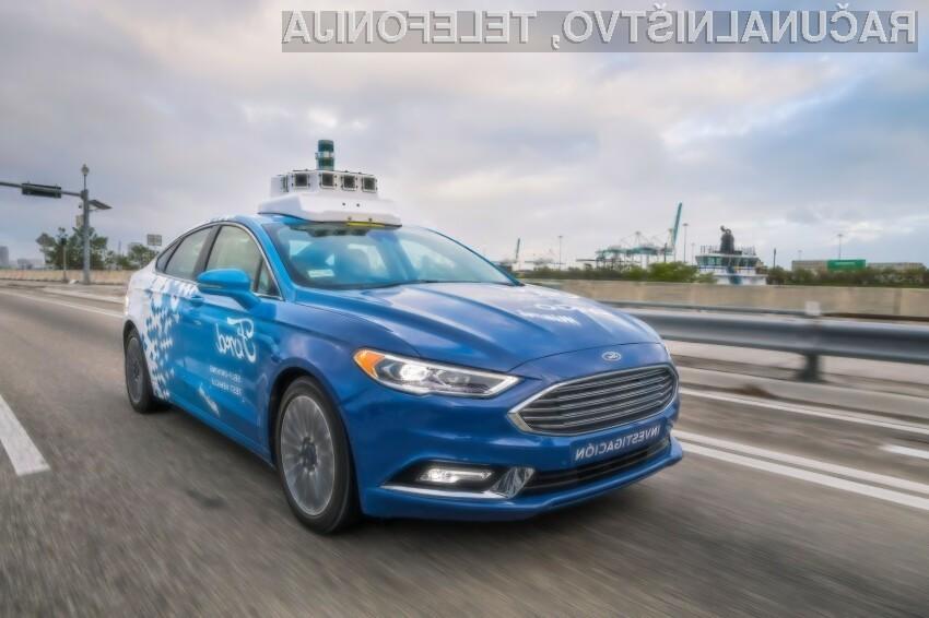 Ford si do leta 2021 želi floto tisočih avtonomnih avtomobilov