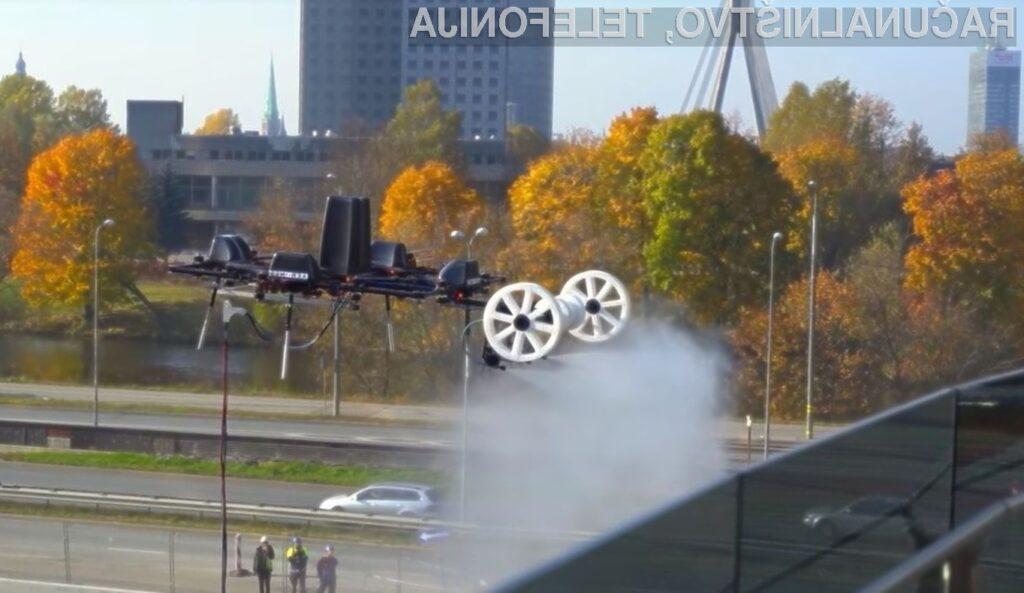 Droni se odlično odrežejo pri delih, ki so za človeka lahko smerno nevarna.