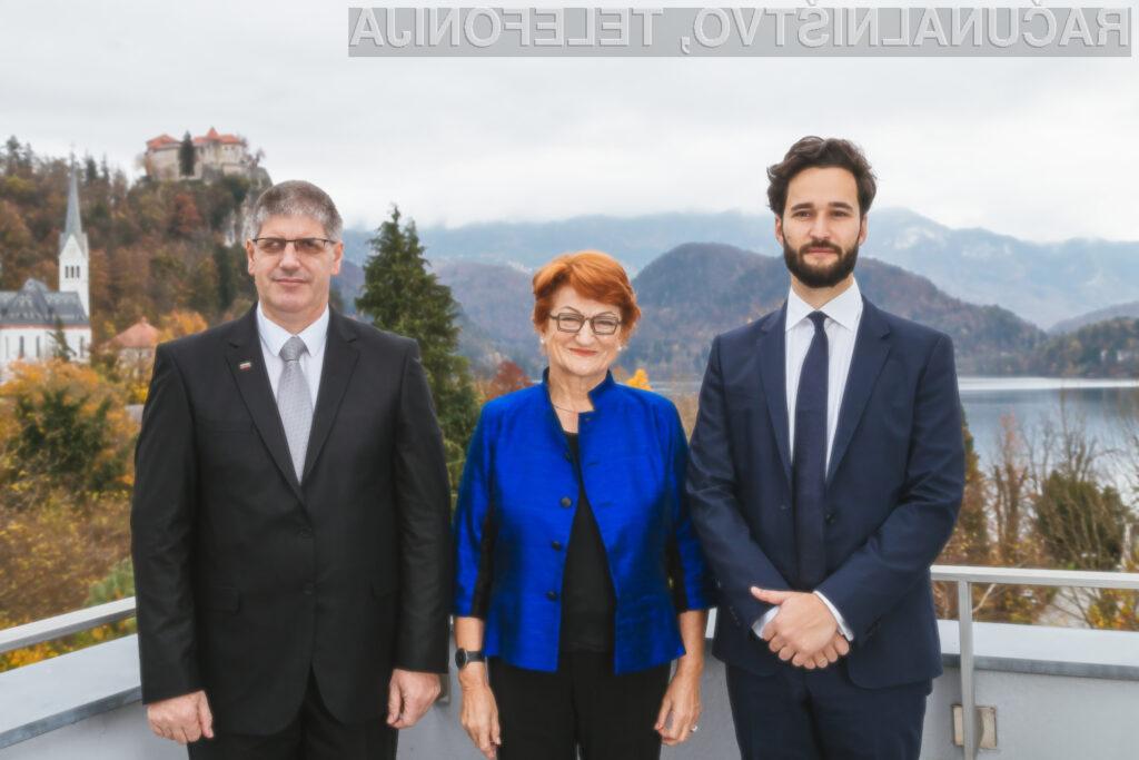 Dr. Daniel Susskind, dr. Danica Purg in minister za notranje zadeve Boštjan Poklukar.