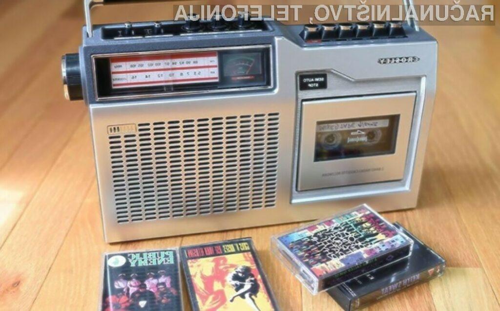 Če imate doma še vedno kasete, bosta kasetnika CT100 in CT200 podjetja Crosley odlična izbira za vas.