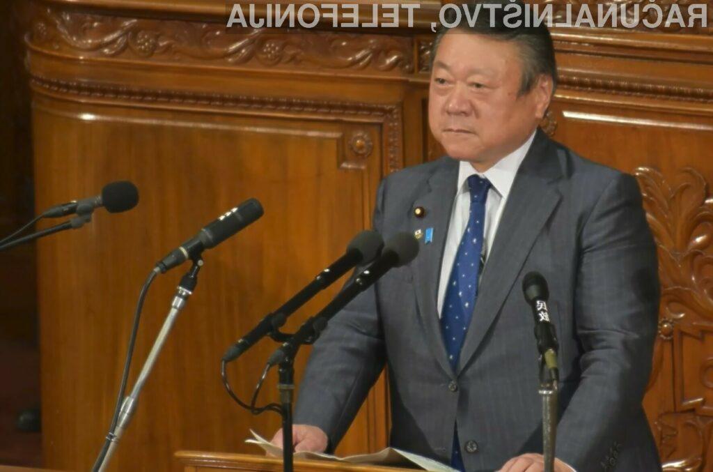 Japonski minister Yoshitaka Sakurada si je prislužil naziv najvarnejšega ministra na svetu!