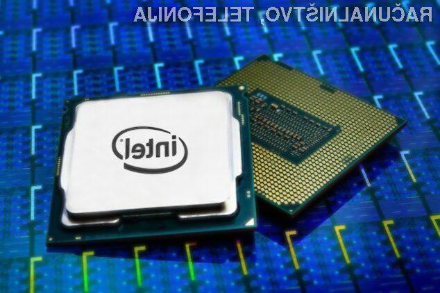 Na nove procesorje podjetja Intel bo treba počakati do leta 2019.
