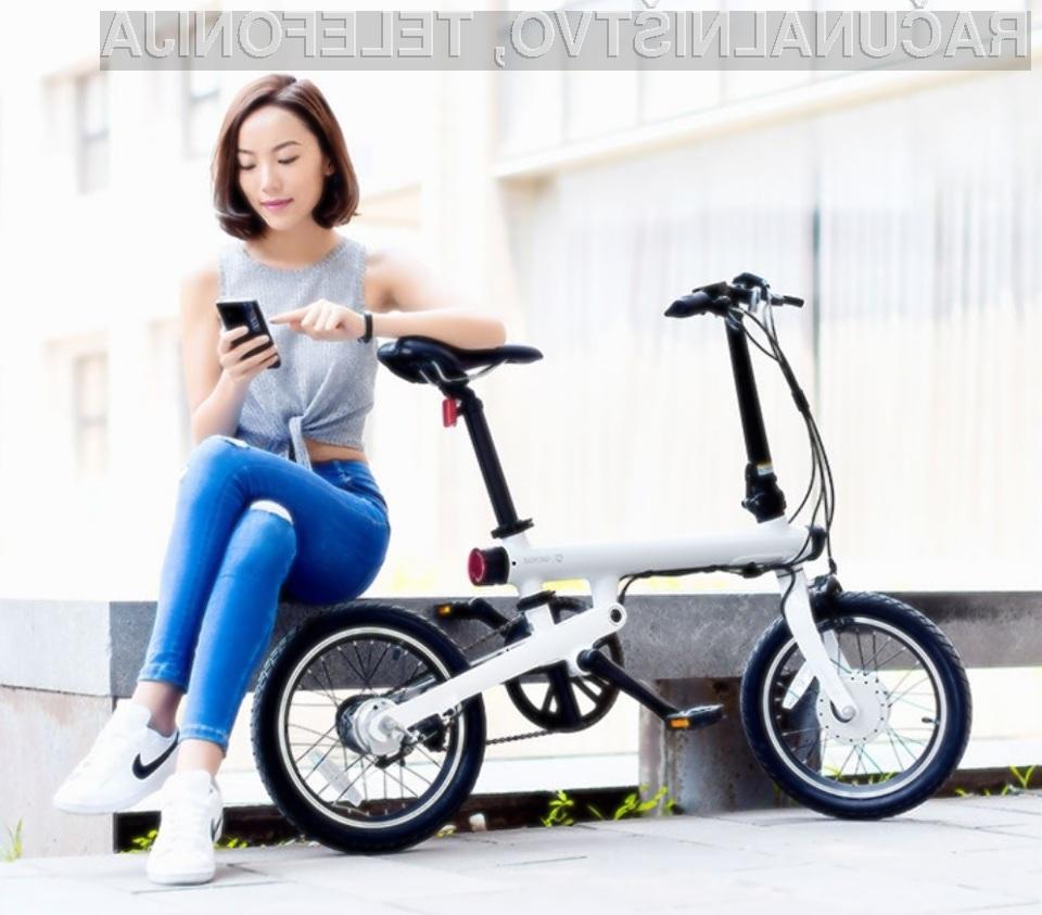 Pametno električno kolo Xiaomi QICYCLE TDR01Z za relativno malo denarja ponuja veliko.