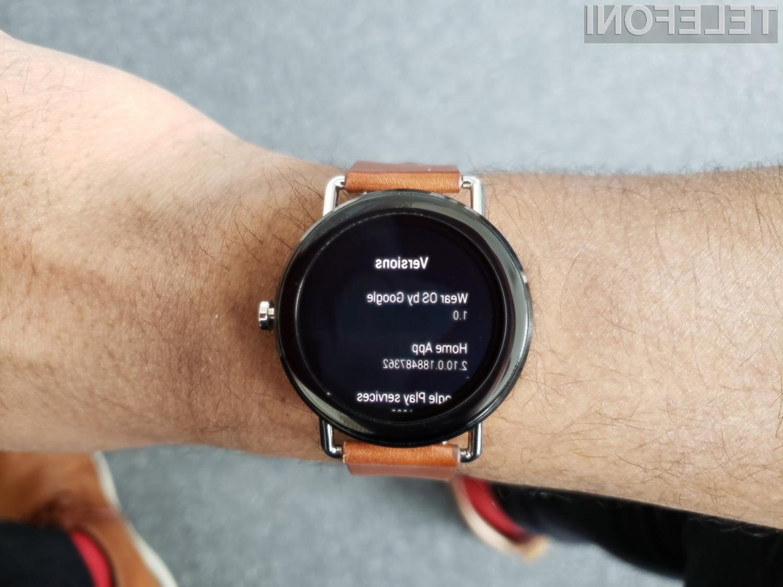 Z novim sistemom Wear OS naj bi se avtonomija naše pametne ročne ure opazno podaljšala.