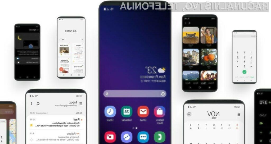 Uporabniški vmesnik Samsung One UI navdušuje v vseh pogledih.