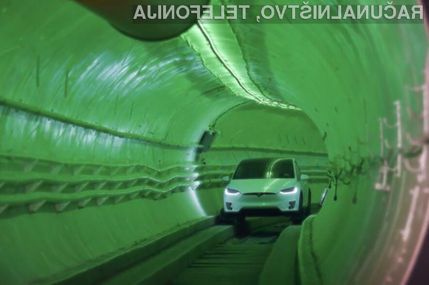 Električni predor naj bi znatno pohitril potovanja po mestih.