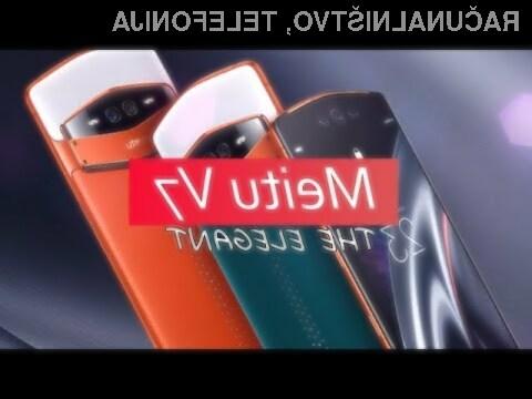 Pametni mobilni telefon Meitu V7 je resnično nekaj posebnega.