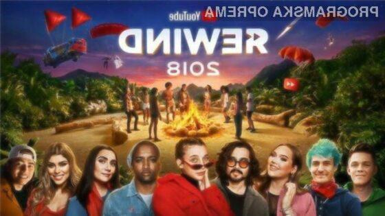 """YouTube Rewind 2018 je postal 2. najbolj """"osovražen"""" video"""